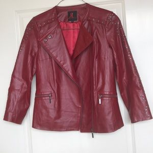 Adrienne Landau Leather Jacket